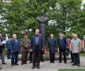 Митинг-реквием у бюста-памятника К. Рокоссовскому
