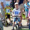 Детская беговелогонка на Школьном озере