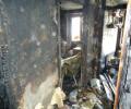 На пожаре в 7 микрорайоне спасли 16 человек
