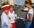 Учащиеся шолы №1194 провели акцию «Письмо водителю»