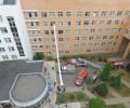 В зеленоградском перинатальном центре прошли показательные пожарно-тактические учения