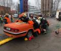 Зеленоградские пожарные лучшие в Москве в проведении аварийно-спасательных работ при ДТП