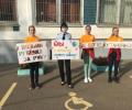 Школьники приняли участие в акции «Возьми ребенка за руку»