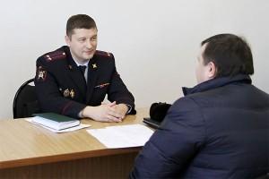 Выездной прием граждан руководителями отделов полиции в декабре
