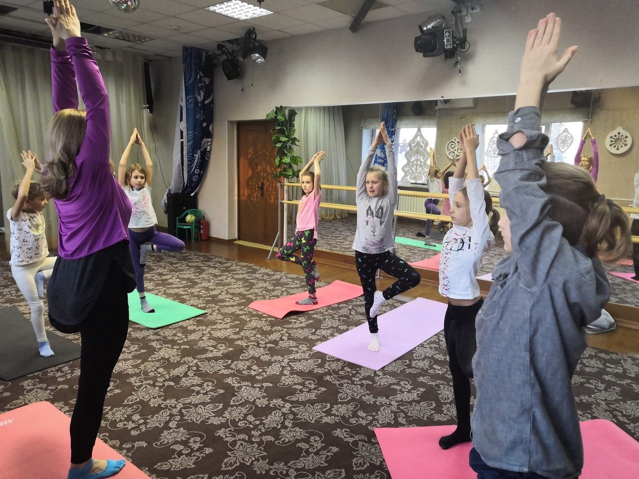 Йога в сити фитнесе