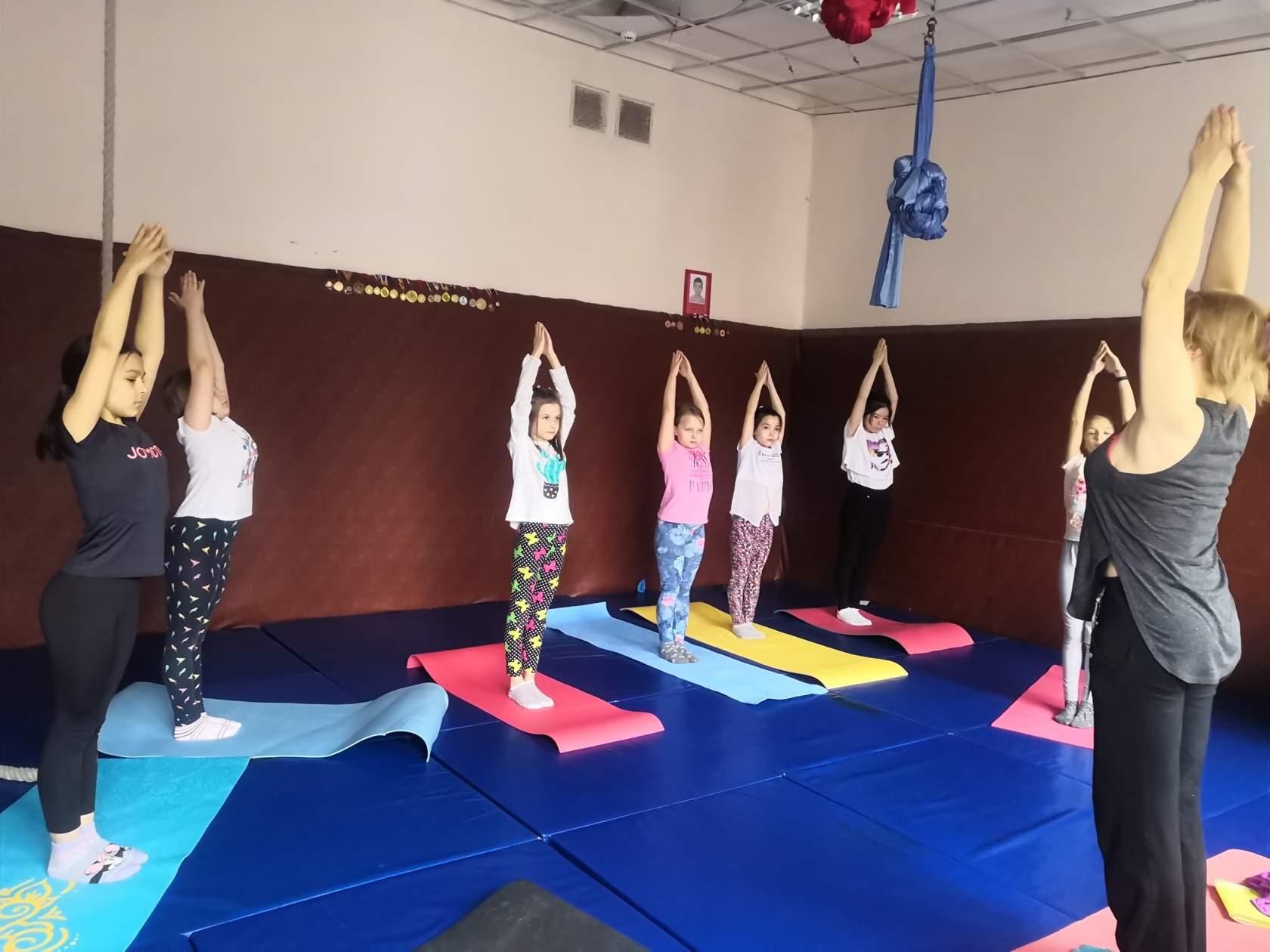 Фитнес йога в кургане